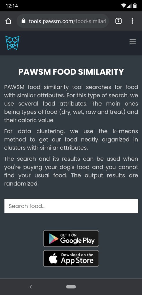 Science diet dog food - search by similarity - introduction